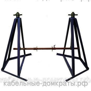ДК-6В Домкрат кабельный винтовой (в комплекте с осью и башмаками) до 6000 кг, до №22