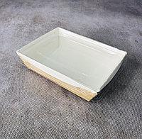 Эко коробка с крышкой (трайфл), крафт, 500мл