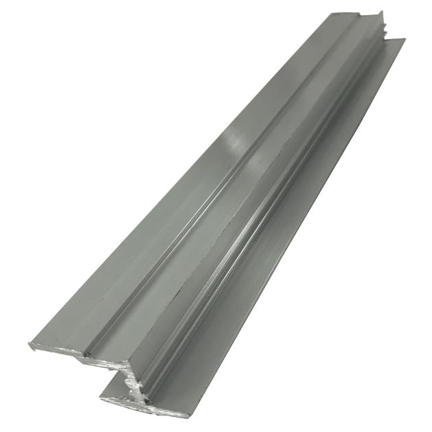 Алюминиевый Н-профиль для гранита №1 580 см * 4 см * 1,7 см