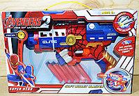 SB354/344 Пистолет Мстители 6 патронов разные виды 33*22см, фото 1