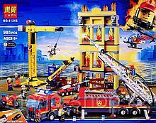 Конструктор Lari 11216 Центральная пожарная станция