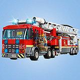 Конструктор Lari 11216 Центральная пожарная станция, фото 4