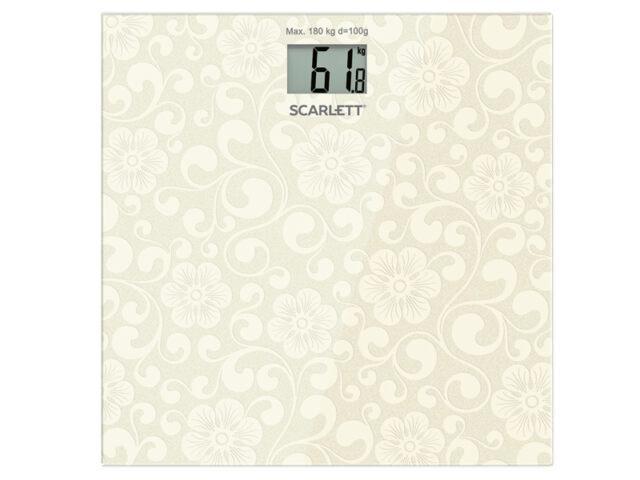 Весы напольные Scarlett SC-BS33E043