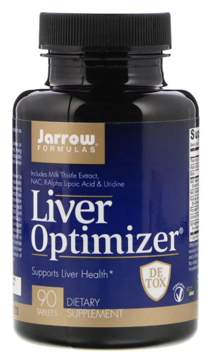 Jarrow Formulas, Для оптимального здоровья печени, 90 таблеток