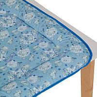 Накладка пеленальная мягкая, голубой (Фея, Россия)
