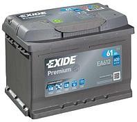 Аккумулятор EXIDE Premium EA612 61Ah 600A (EN)