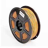 PLA пластик филамент 1,75 мм. 3DN (1 кг.) цвет светло-коричневый