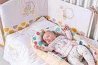 """Кокон-гнездышко Disney baby Медвежонок Винни """"Чудесный день"""", желтый (Polini, Россия)"""