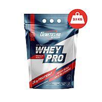 Geneticlab Whey Pro, 2.1 кг (вкус на выбор)