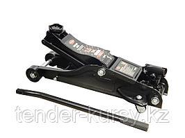 ROCKFORCE Домкрат подкатной гидравлический 2.5т низкопрофильный с поворотной ручкой 360°   (h min 89мм, h max