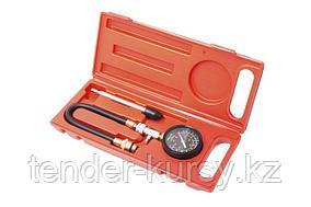 Kingtul Индикатор компрессии бензинового двигателя Profi (М14, М18 + жесткий прижимной адаптер-переходник) 3