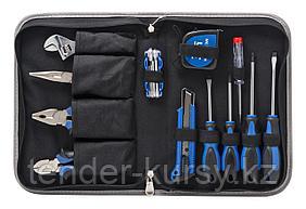 Partner Набор инструмента 17 предметов(шарнирно-губцевый+отвертки,рулетка) в сумке Partner PA-5517 4259