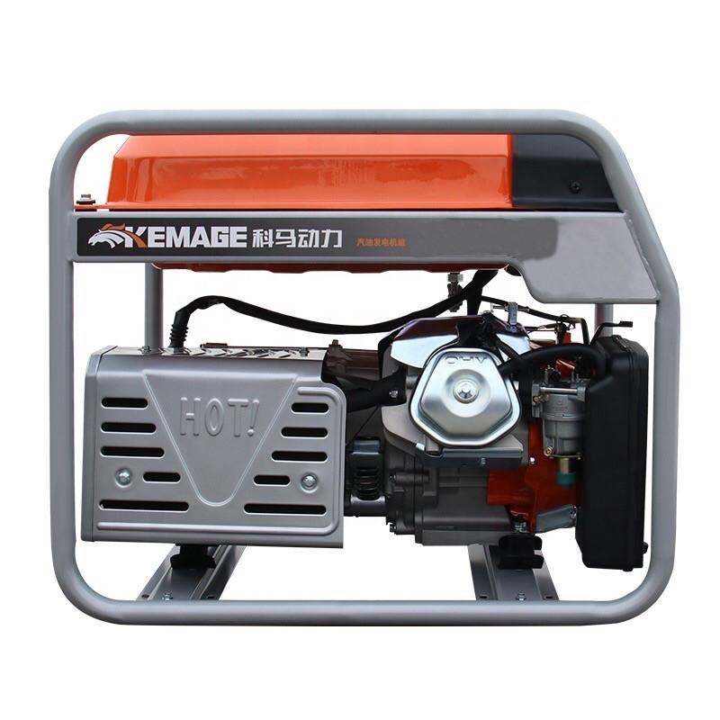Генератор бензиновый TOR KM6500H с ручным запуском