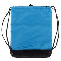 Мешок для обуви, с карманом, 470 х 330 мм, 'Оникс', МО-33-20, цвет ярко-голубой