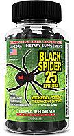 Жиросжигатель Black Spider Cloma Pharma, 100 капс.