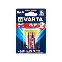 VARTA Max tech Micro 1.5V - LR03/ AAA (2 шт), батарейка