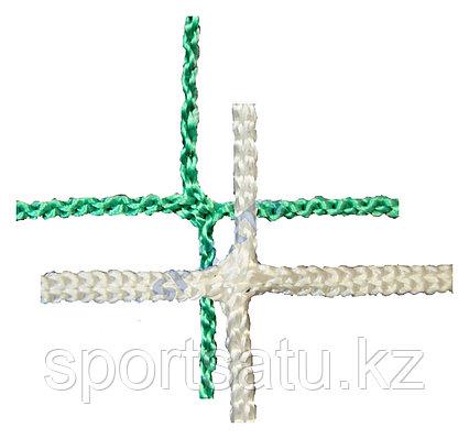 Сетка заградительная 100*100*3 белый/зеленый