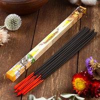 Благовония Sarathi 'Frank-Myrr. Ладан-мирра', 8 палочек в упаковке, четырёхгранник (комплект из 25 шт.)