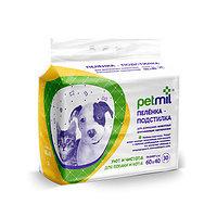 PetMil, одноразовые пелёнки для животных, размер 60*40 см, уп.30 шт.