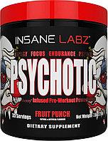 Энергетик Psychotic Fruit Punch (Фруктовый пунш) Insane Labz (35 порц.)