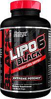 Жиросжигатель Lipo-6 Black Nutrex Research 120 капс.