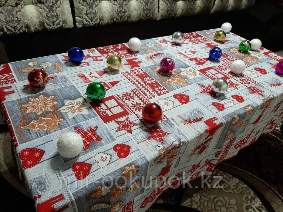 Скатерти на новогодний стол 150/220 см
