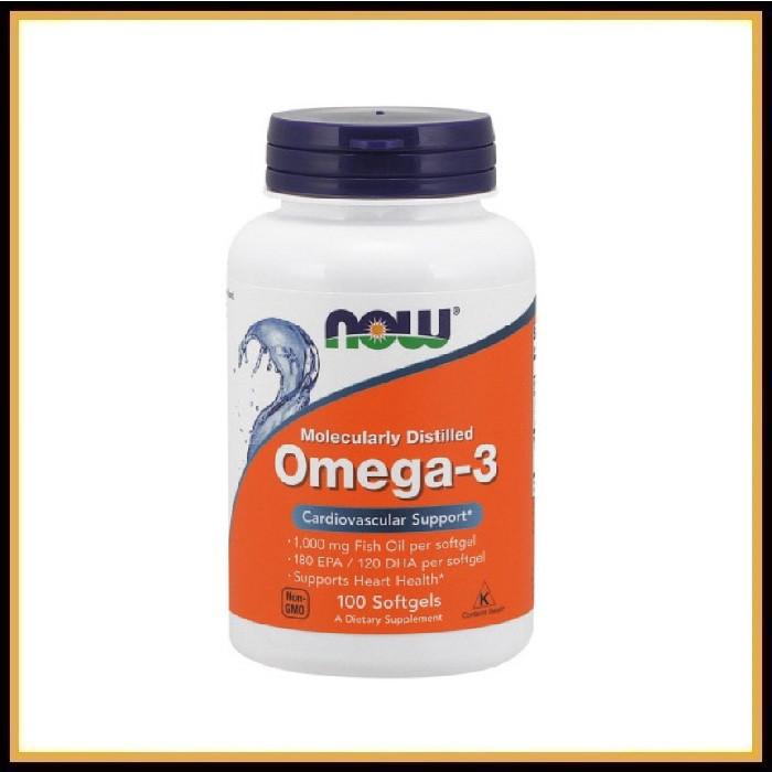 NOW Omega-3 1000mg 100caps