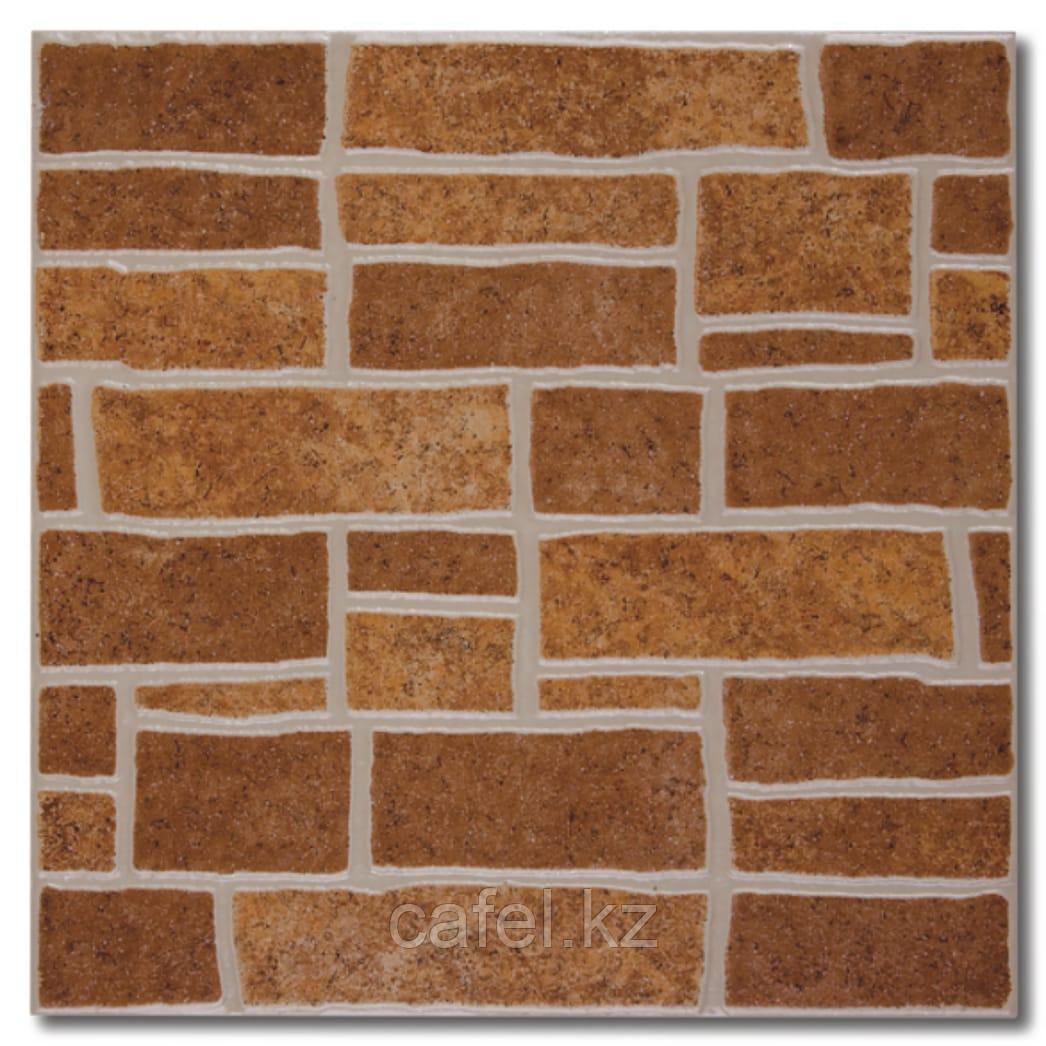Керамогранит   плитка для пола 33х33 - Монте   Monte коричневый