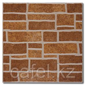 Керамогранит | плитка для пола 33х33 - Монте | Monte коричневый