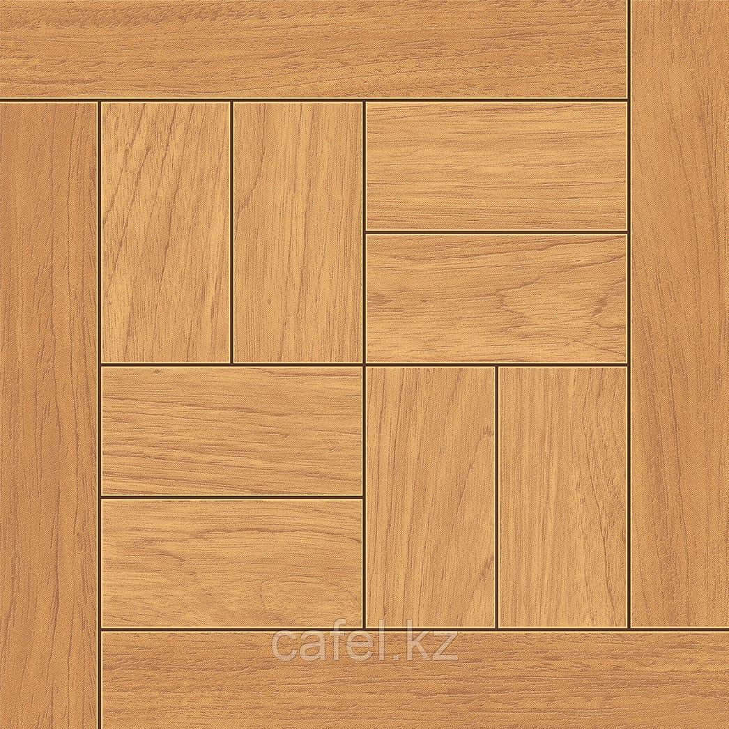 Керамогранит   плитка для пола 33х33 - Паркет орех коричневый