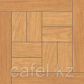 Керамогранит | плитка для пола 33х33 - Паркет орех коричневый