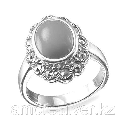 Кольцо  серебро без покрытия К 092 размеры - 75