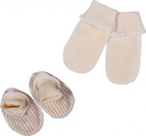 Комплект для новорожденного БИМОША Пинетки 2 пары р.29 ПОЛОСКА