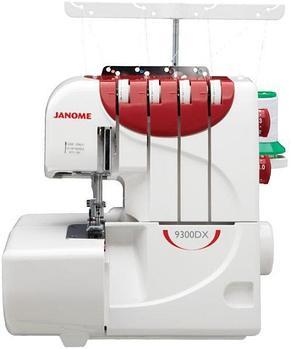 Janome 9300DX белый-красный