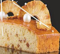 Смесь для пирога. Ананасовый пирог с кусочками ананаса. 15кг
