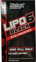 Жиросжигатель Lipo-6 Black Nutrex Research 60 капс.