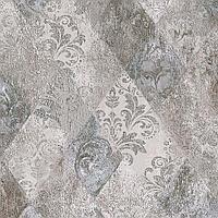 Кафель | Плитка для пола 40х40 Виндзор | Vindzor серый декор