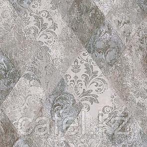 Кафель   Плитка для пола 40х40 Виндзор   Vindzor серый декор