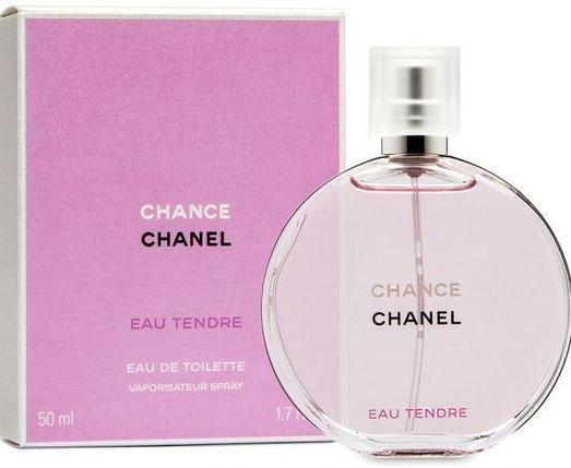Chance Eau Tendre Chanel для женщин 10 ml (Оригинал Франция), фото 2
