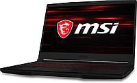 """Ноутбук MSI GF63 Thin 9SCXR-637XKZ NB 9SCXR, Core i7-9750H-2.6/512GB SSD/8GB/GTX1650-4GB/15.6"""" FHD 60Hz/DOS"""