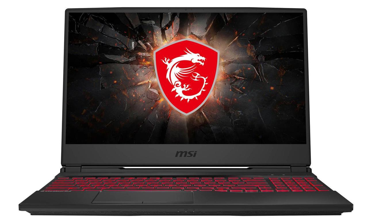 "Ноутбук MSI GL65 Leopard 10SDR-693XKZ NB 10SDR, Core i7-10750H-2.6/1TB+256GB SSD/16GB/GTX1660Ti-6GB/15.6"" FHD - фото 1"