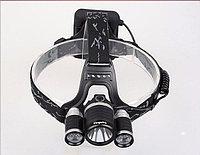 Light 3xCREE T6 фонарь наголовный