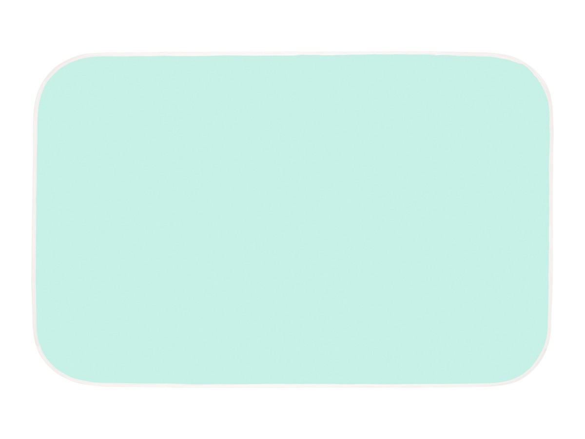Клеёнка подкладная с ПВХ покрытием. Цвет бирюзовый - фото 2
