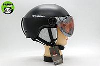 Горнолыжные шлемы с визором MOON, Шлем для сноуборда, фото 1