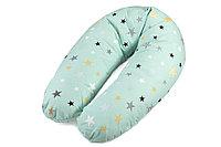 Подушка для беременных и кормящих мам (Холлофайбер+шарики антистресс)