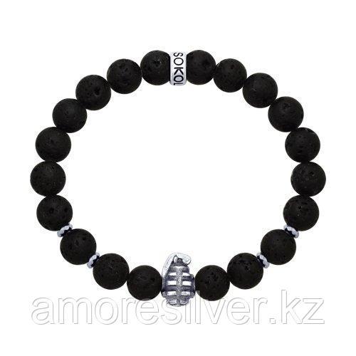 Браслет SOKOLOV из черненного серебра 8510500035 размеры - 17 19