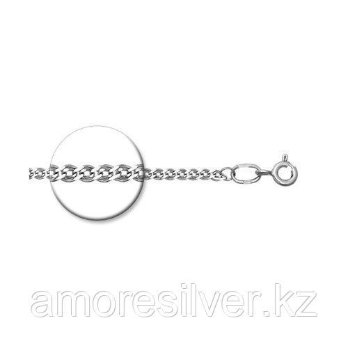 Цепь SOKOLOV серебро с родием, без вставок, нонна 968060402 размеры - 50 55