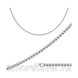 Цепь SOKOLOV серебро с родием, без вставок, скорпион 968100604