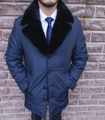 """Куртка зимняя премиального качества из меха норки """"City Class"""" (100% полиэстер)"""