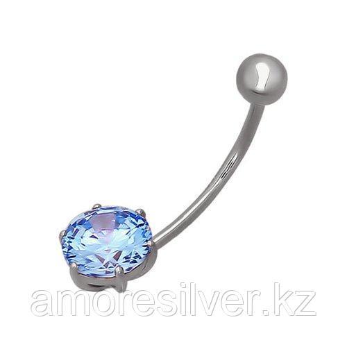 Серьги SOKOLOV серебро с родием, фианит  94060040